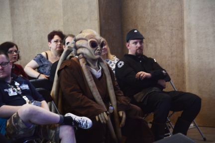 Just one of the ordinary comicon-guests
