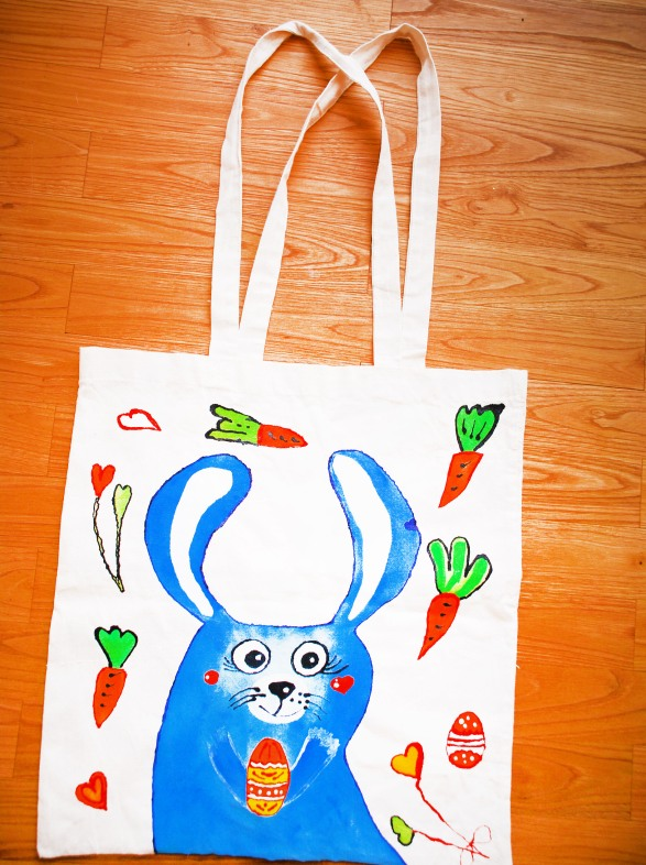 "Artwork Bag ""Easter Bunny"""