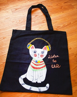 "Artwork Bag ""Listen to UA"""