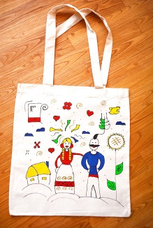 "Artwork Bag ""Ukrainian"""